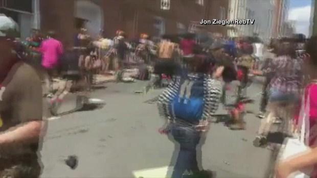 [TLMD - MIA] Nuevo video de auto atropellando a manifestantes en Virginia