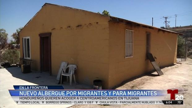 [TLMD - SD] Nuevo albergue migrante a migrante