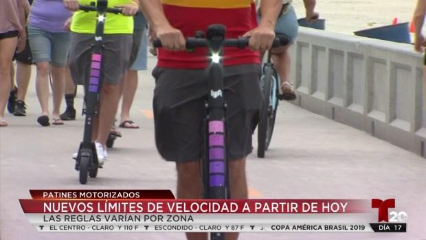 [TLMD - SD] Nuevos límites de velocidad para scooters