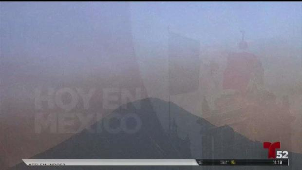 [TLMD - LV] Otra erupción de volcán Popocatépetl en México