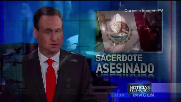 Otro sacerdote es asesinado en México