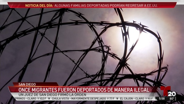 [TLMD - SD] Once migrantes fueron deportados de manera ilegal