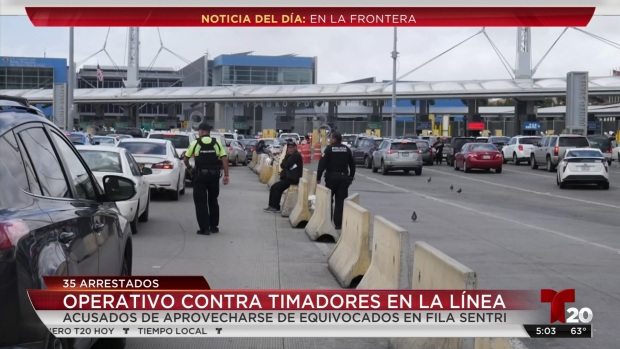 [TLMD - SD] Presuntas extorsiones en la frontera
