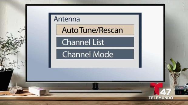 Pasos para reprogramar los canales de tu TV