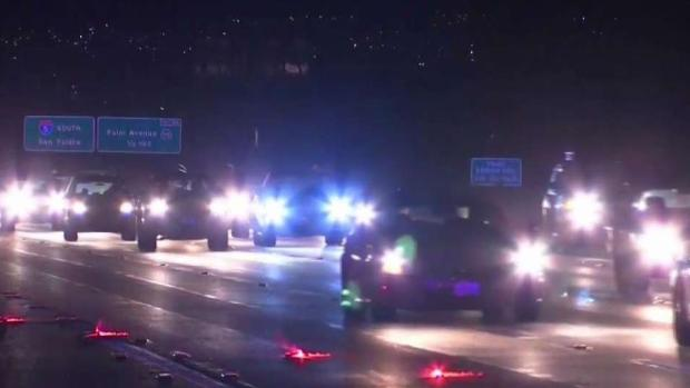 [TLMD - SD] Peatón es atropellado sobre la I-5 en Chula Vista