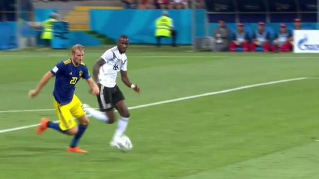¡Gol Suecia! Ola Toivonen está dejando fuera a Alemania
