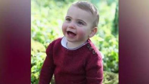 Revelan tiernas fotografías del Príncipe Louis