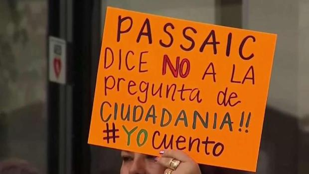 [TLMD - NY] Protesta contra pregunta controversial en censo 2020