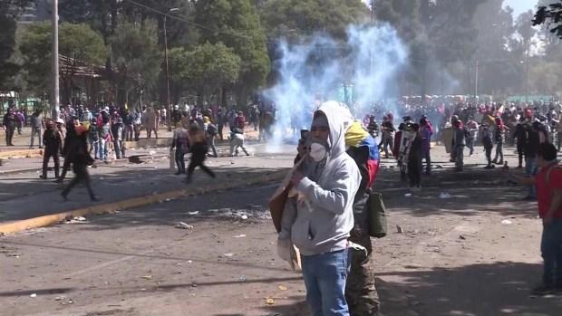 [TLMD - MIA] Violentas protestas paralizan Quito