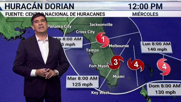 [TLMD - MIA] Por qué pueden ser devastadores los efectos de Dorian en Florida