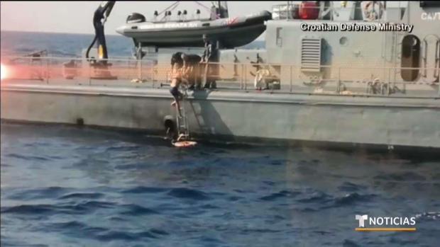 [TLMD - LV] Rescatada tras 10 horas flotando en el mar