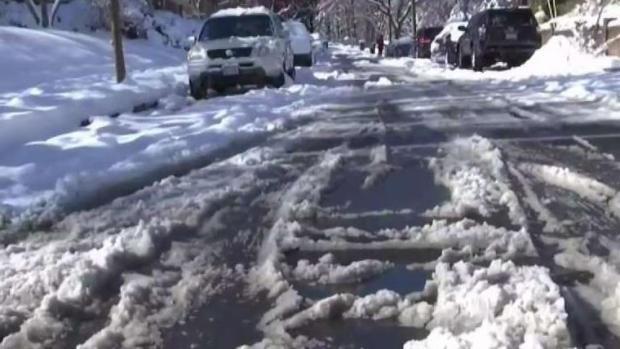 Residentes de la región se preparan para tormenta invernal