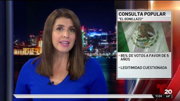 "[TLMD - SD] Revelan resultados consulta popular ""El Bonillazo"""