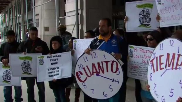 Robo de salarios afecta a trabajadores inmigrantes