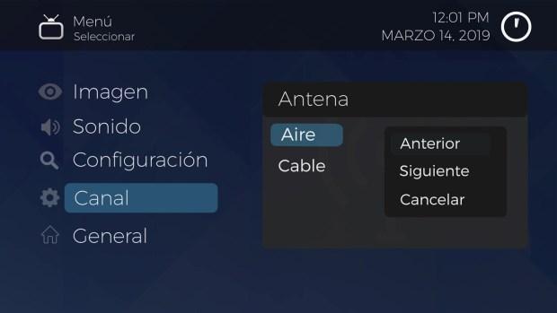 Reprograma SAMSUNG TV