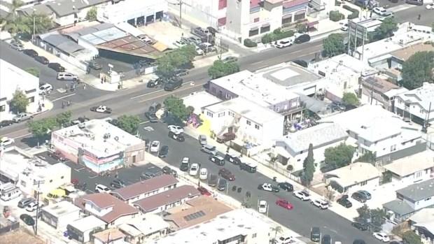 [TLMD - SD] Equipo SWAT desciende sobre departamento en City Heights