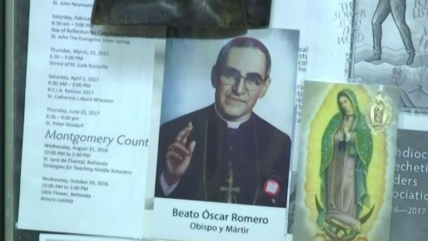 Salvadoreños se preparan para canonización de Monseñor Romero