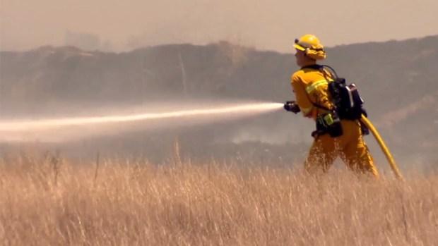[G] Incendio de maleza cerca de la preparatoria San Ysidro