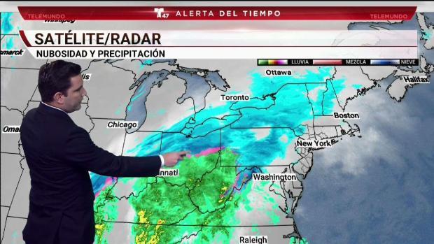 Se avecina una tormenta invernal a la región