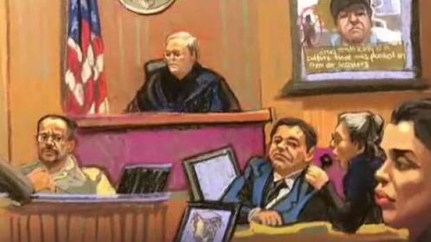 Se escucha la voz de ''El Chapo'' en el juicio