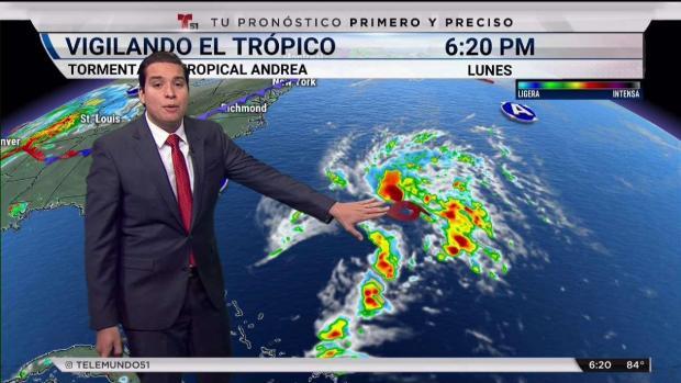 [TLMD - MIA] Se forma la tormenta subtropical Andrea