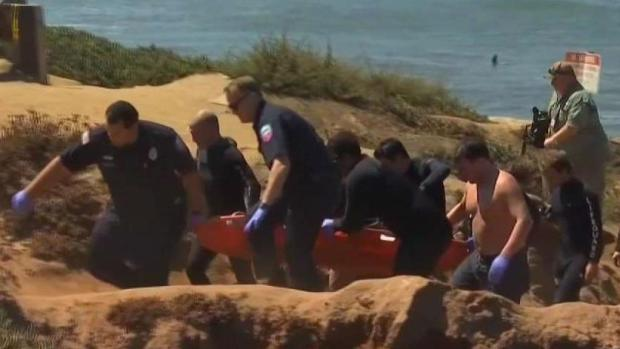 [TLMD - SD] Socorristas realizan rescate de menor en Sunset Cliffs