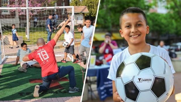 Tiempo de Gol: Fotos con la comunidad