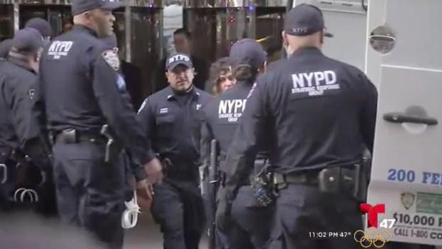 [TLMD - NY] Donald Trump hace acto de campaña en medio de protestas en NY