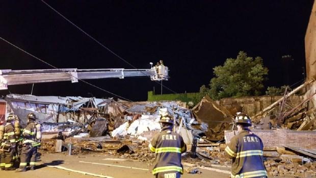 [TLMD - NY] Colapsa edificio en Brooklyn