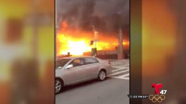 [TLMD - NY] Incendio en las líneas principales del Metro North en Manhattan