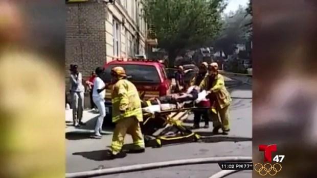 [TLMD - NY] Voraz incendio deja varios bomberos heridos en El Bronx