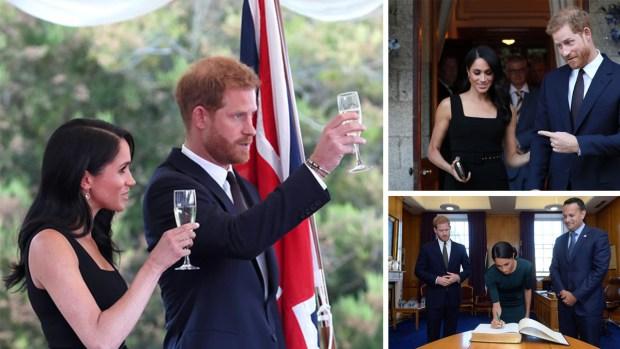 Con licencia para seducir y beber: Meghan y Harry viajan en misión especial