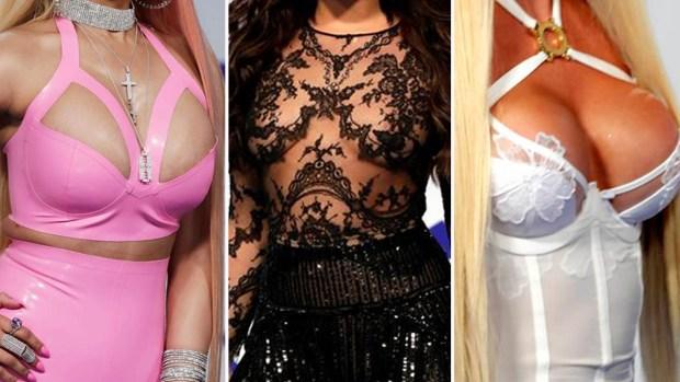 MTV Awards: sin brassier, con peluca y belleza transgénero