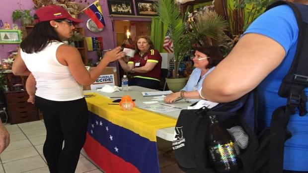 Así se vivió el plebiscito venezolano en la región
