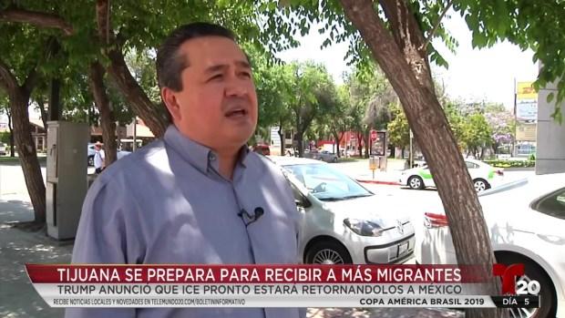 [TLMD - SD] Esperan a miles de retornados en Tijuana, y los recursos ya escasean