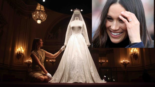 """Top Secret"": el vestido de novia de Meghan Markle"