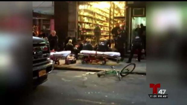 [TLMD - NY] Tres personas baleadas en concurrida calle