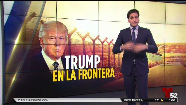 [TLMD - LV] Reacciones en México tras visita de Trump a la frontera