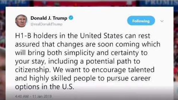 [TLMD - LV] Trump promete cambias en visas para trabajadores