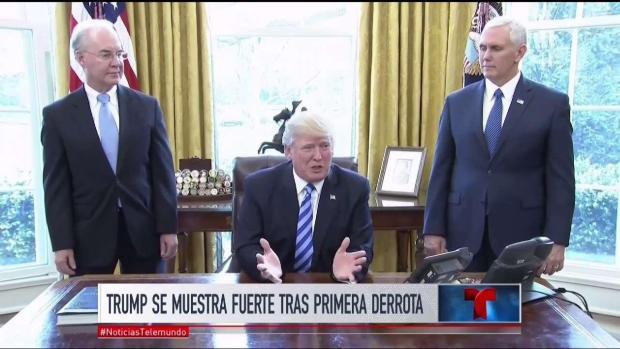 [TLMD - MIA] Trump se muestra fuerte tras derrota en el Congreso