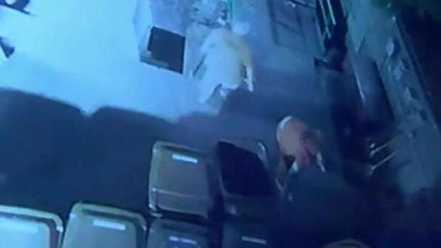 [TLMD - NY] VIDEO: Reos se esconden en botes de basura