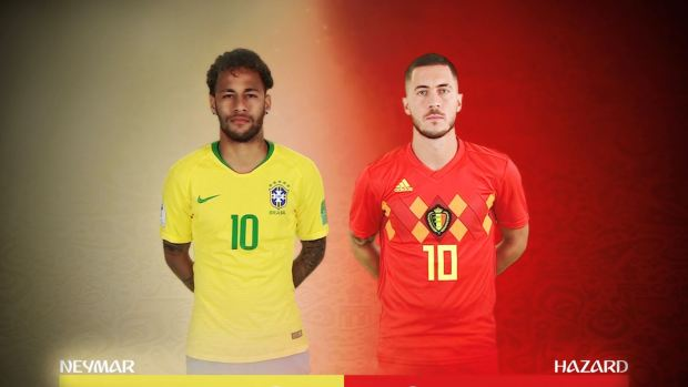 [World Cup 2018 PUBLISHED] Eden Hazard vs Neymar, un duelo de titanes