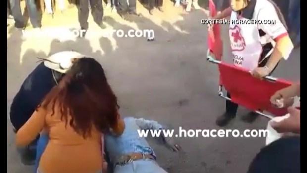 [TLMD - MIA] Video de instante en que atropellan a hombre en XV de Rubí