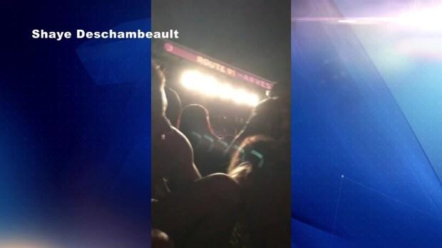 [TLMD - LV] Asistentes a concierto en el Strip escuchan disparos
