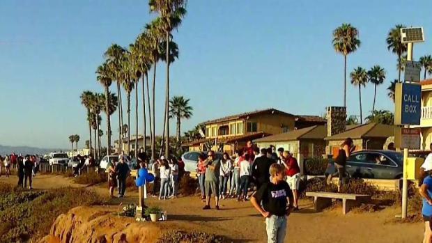 [TLMD - SD] Vigilia en memorai de Anthony Womack en Sunset Cliffs