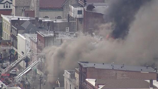 [TLMD - NY] Pavoroso incendio en Dover, NJ