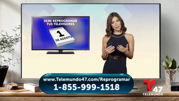 Pasos a seguir para reprogramar tu TV