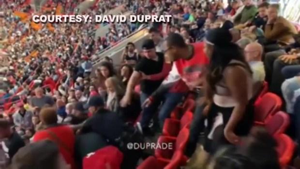 Hombre es arrestado durante partido del Miami Heat