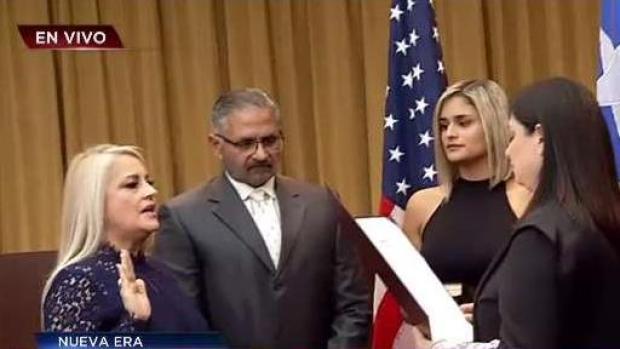 [TLMD - PR] Wanda Vázquez juramenta como gobernadora
