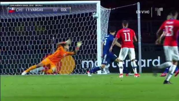 [TLMD - National- LV] Zambombazo de Edu Vargas marca el 2-0 para Chile